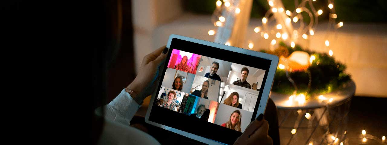 PixoLabo - Small Business Holiday Marketing Tips - Virtual Holiday Party